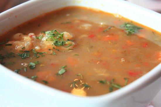 Achiote Ecuador - Cuisine: Sancocho quiteno (beef soup)
