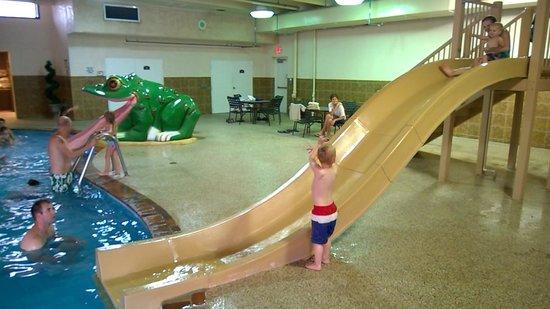 BEST WESTERN PLUS Kelly Inn: Slides in the pool area