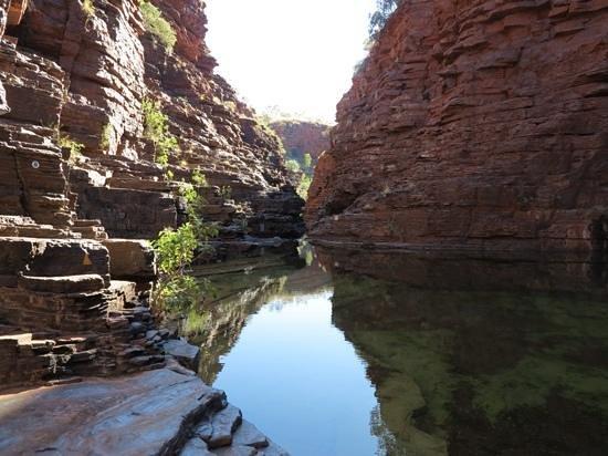 Karijini Eco Retreat : Joffre's gorge