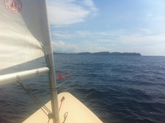 Sail Anilao: One of the Lasers