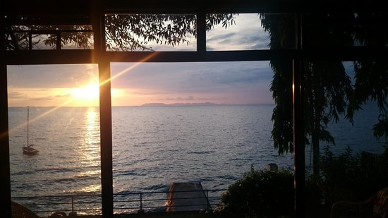Sail Anilao: Sunset from room