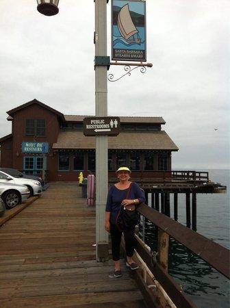 Stearns Wharf : Santa Barbara, CA