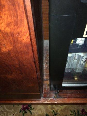 Waldorf Astoria New York: Inside cabinet mold