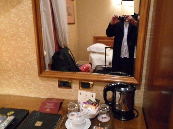 Hotel Berna: Tudo organizado e limpo