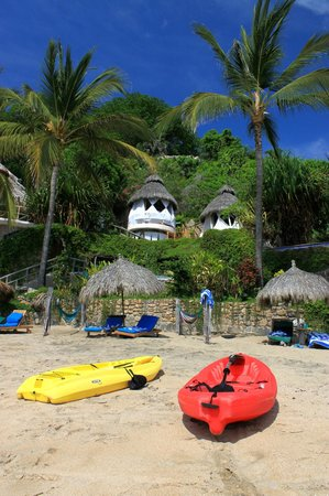 Playa Escondida: Beachfront suites
