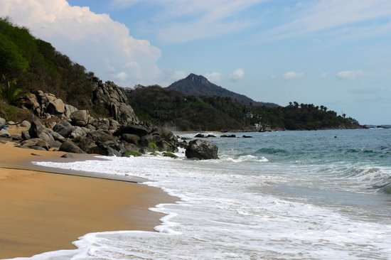 Playa Escondida: View from the beach