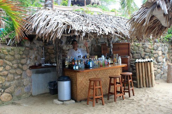 Playa Escondida: Beach bar