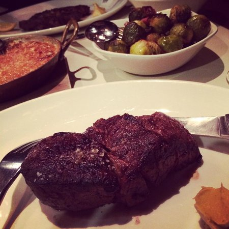Rockpool Bar & Grill : Fillet and Brussels Sprouts...