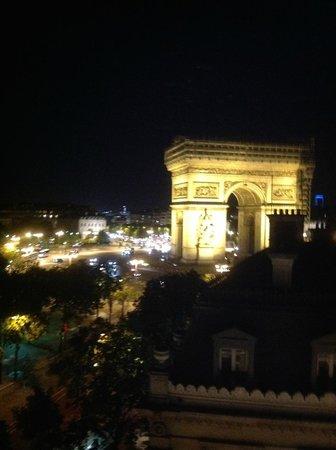 Splendid Etoile Hotel: View from Room 608