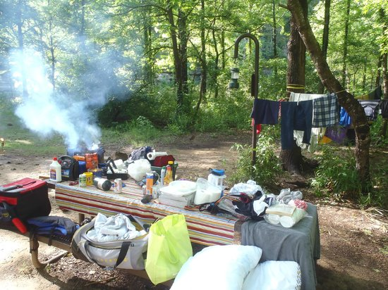 Buffalo National River Kyle's Landing Campground: Camp