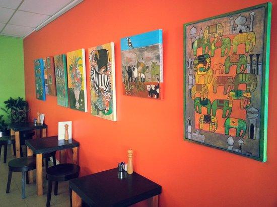 Trina's Cafe: Artworks for sale