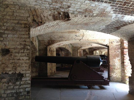 Fort Sumter National Monument: gun battery