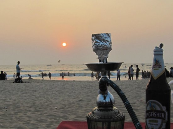 sunset @Baga beach - Picture of Baga Beach, Baga - TripAdvisor