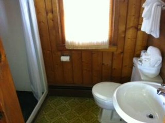 Bay View Motel: Small but clean bathroom