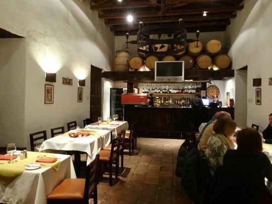 Ristorante Vino Bello: Salão interno