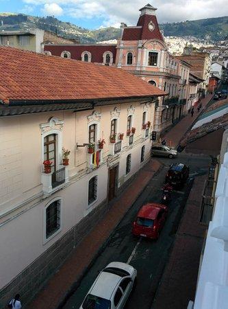 Casa El Eden : View from room Tomate de Arbol on 3rd floor