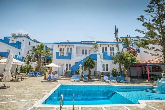 Belvedere Hotel Agia Pelagia: view