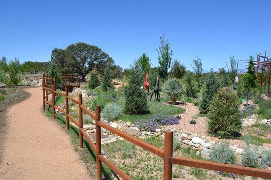 Merveilleux Santa Fe Botanical Garden: Left Of Entrance