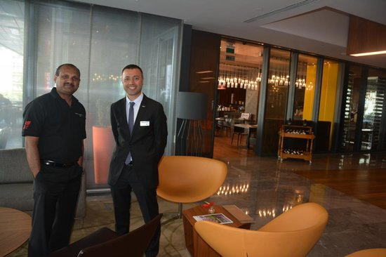 Radisson Blu Hotel Istanbul Asia: Very helpfull staff and comfortable business center