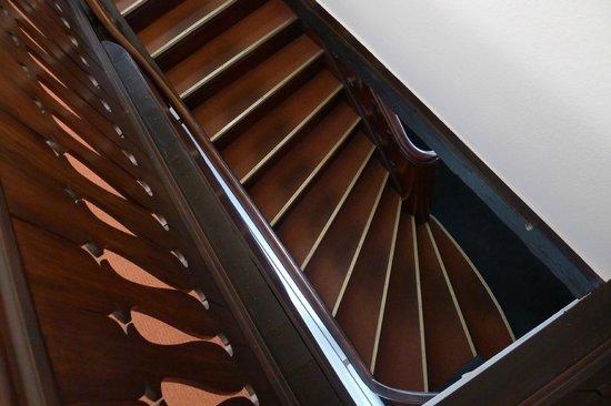 Zum Heidkrug - Treppe