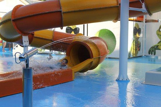 Turtle Beach Resort: one of four slides