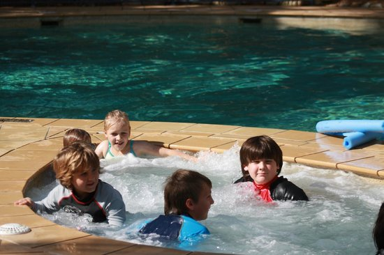 Turtle Beach Resort: one of the heated spa's