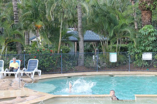 Turtle Beach Resort: heated pool