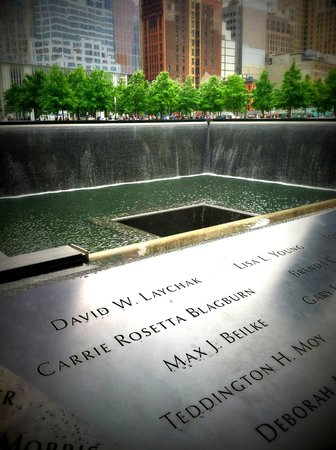 National September 11 Memorial und Museum: Memorial
