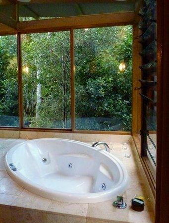 Crystal Creek Rainforest Retreat : spa