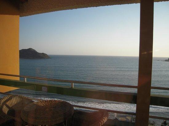 El Cid El Moro Beach Hotel: View from our 21st floor suite.