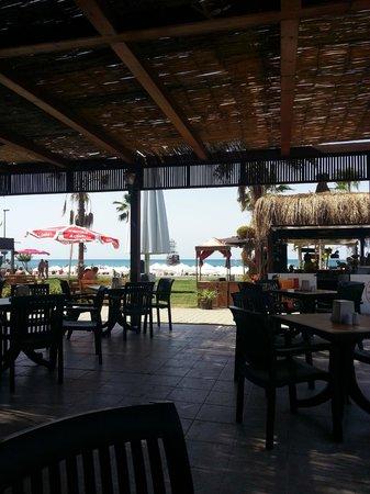 Larissa Beach Club: Пляжный бар
