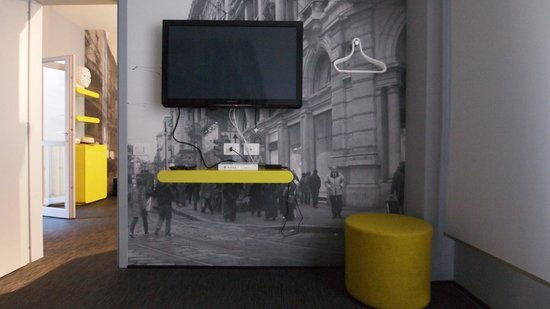 TH Street Duomo: The TV Room (off main bedroom)
