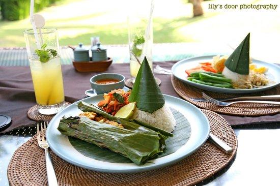 Kelapa Retreat and Spa: delicious food!