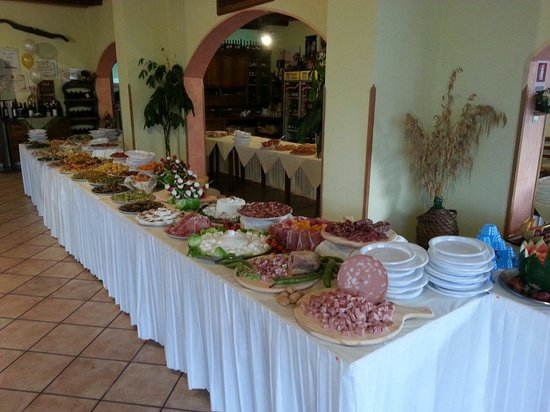 Bar Ristorante Lady Mary: Buffet