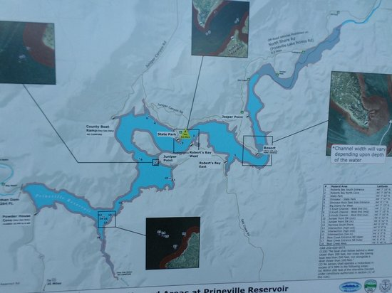 Prineville Reservoir State Park: Lay of the Land