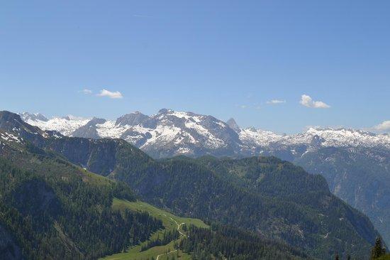 Jenner Bergbahn: Mountain view