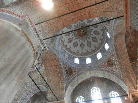 Mosquée Bleue (Sultan Ahmet Camii) : Купол Голубой мечети
