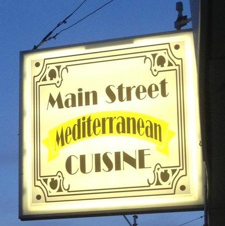 The Main Street Mediterranean Cuisine: 107 N. Main, Bolivar, MO