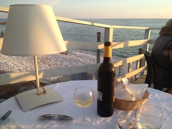 Roca De Mar Cipriano's: mangiando a due passi dal mare