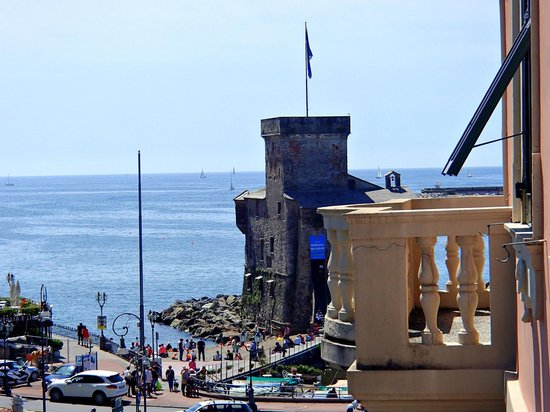 La Vela Hotel: Вид на море