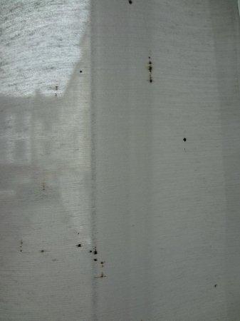 Cross Keys Hotel: Dirty net curtains