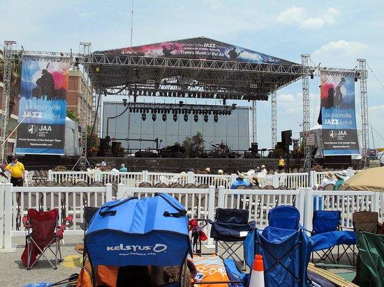 Hyatt Regency Jacksonville Riverfront : Jazz Festival Main Stage #1