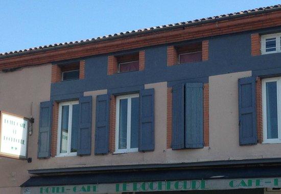 Hotel Le Rochegude : Hotel Front / Façade