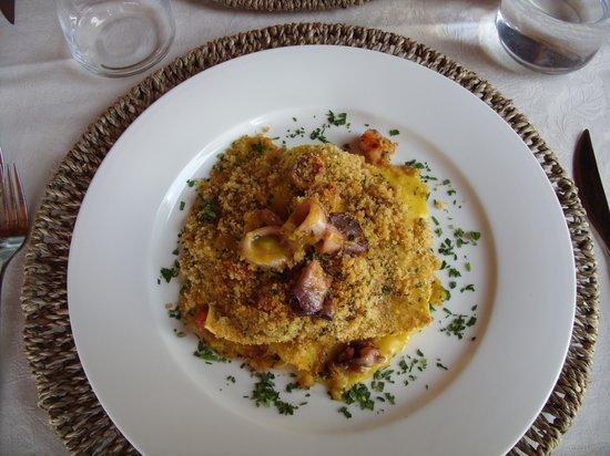 Hotel Kursaal Umbria: Cucina spettacolare
