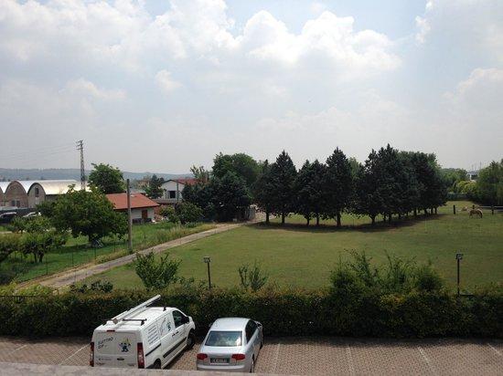 Brandoli: Vista dal balcone