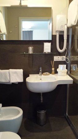 Hotel Restaurant  La Scaletta: Bathroom, Room 41