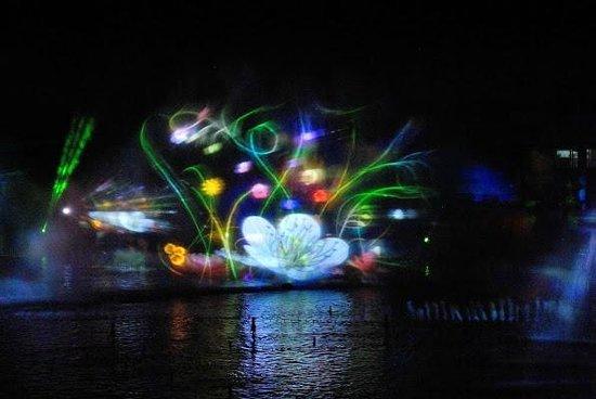 Futuroscope: Вечернее шоу