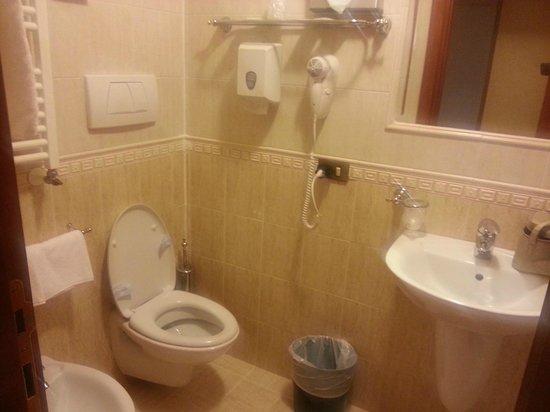 Hotel Virgilio: bagno pulito