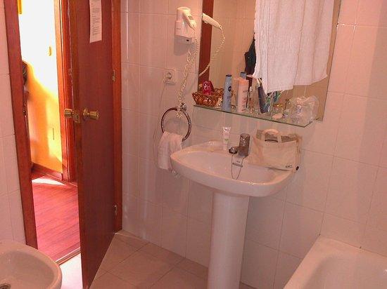 Santa Rosa Hotel : salle de bain