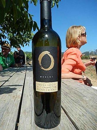 O'Brien Estate Winery: Great Bottle of Wine!
